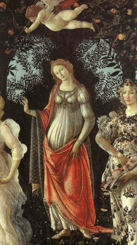 Primavera (The Allegory of Spring ) (detail).