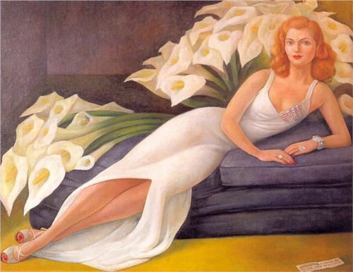 Retrato de la Senora Natasha Gelman (Portrait of Mrs. Natasha Gelman)