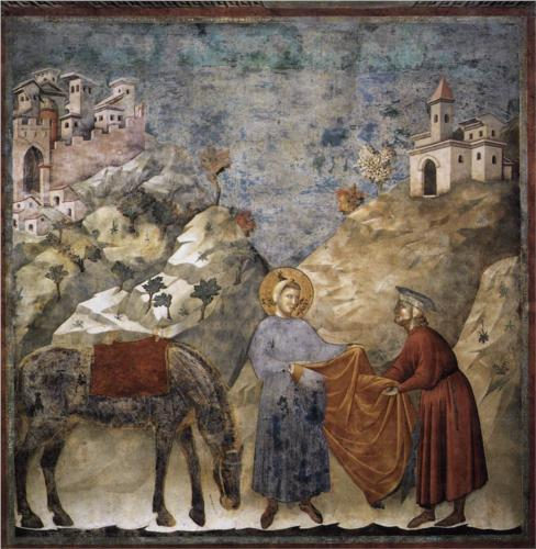 St. Francis Giving His Cloak to a Poor Man.