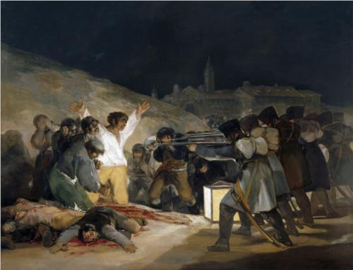 The Execution of the Defenders of Madrid.