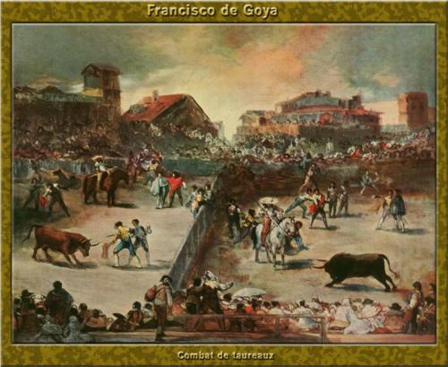 Scene of Bullfight.