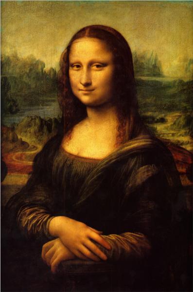 Mona Lisa (La Gioconda).