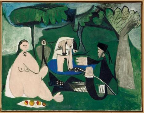 Le Dejeuner sur l'herbe (Manet).