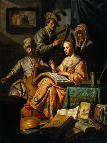 The Musical Party (Family Allegory).