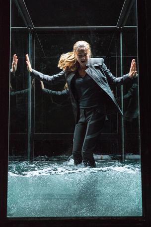 Tris in water tank