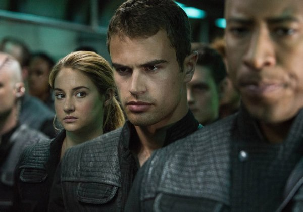Tris and Four on train
