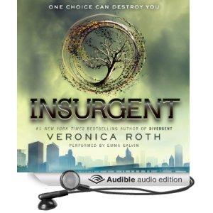 Insurgent Audio Book Cover