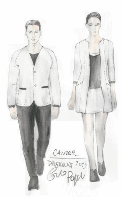 Candor Fashion Sketches