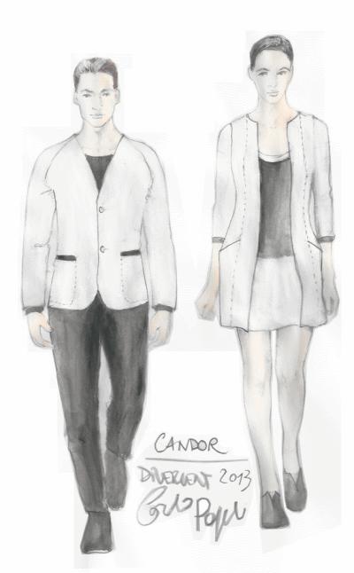 Candor Fashion Sketches