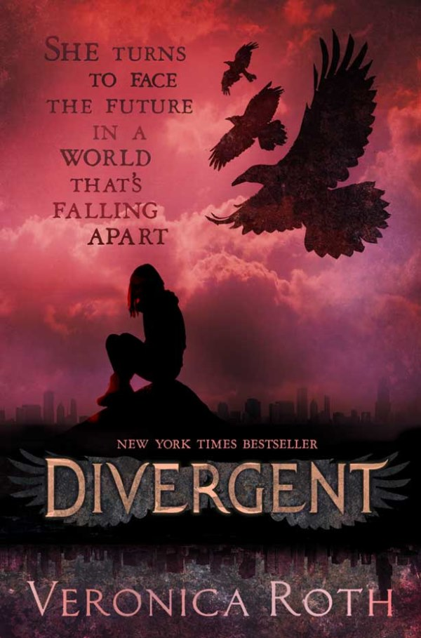 Front cover for UK version of Divergent