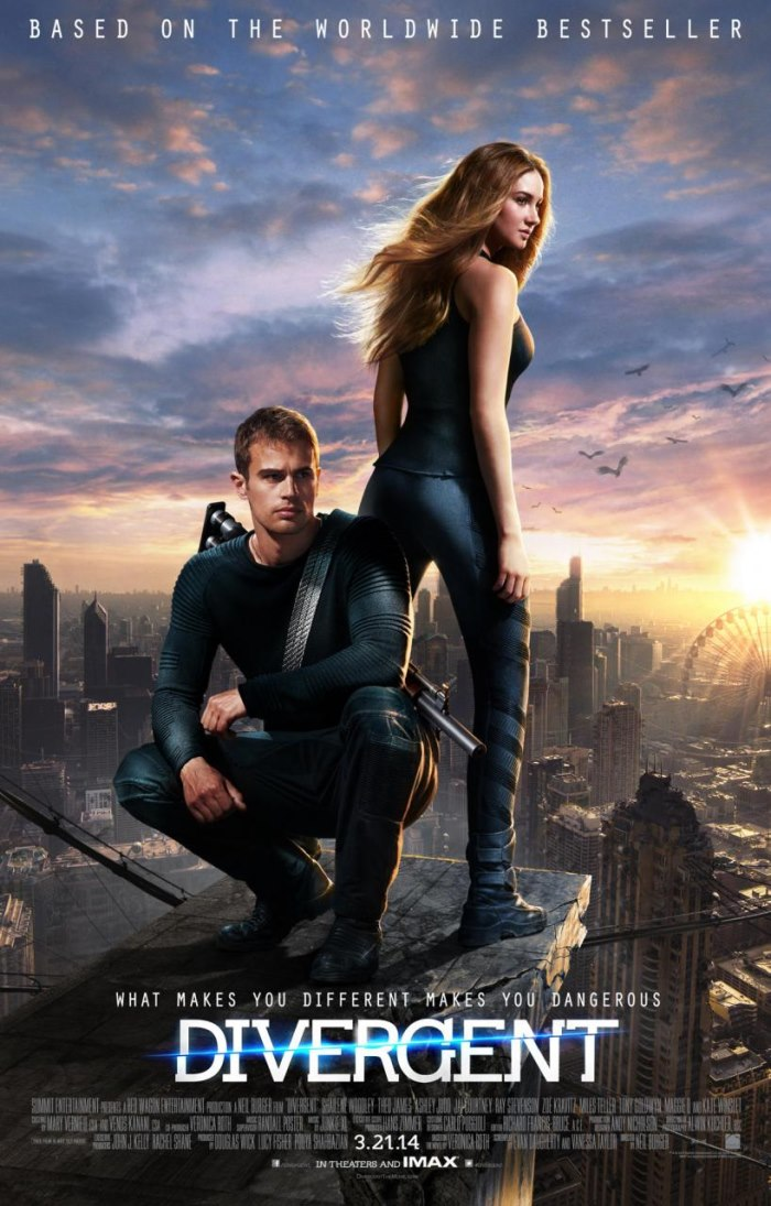 Divergent Movie Poster for IMax theater