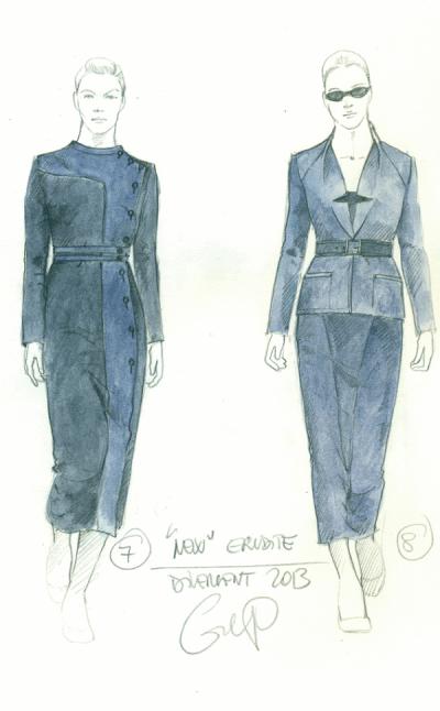 Erudite Fashion Sketches
